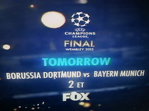 Champions League Final on FOX