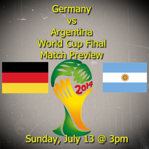 Germany vs Argentina 2014 World Cup Final Match Preview