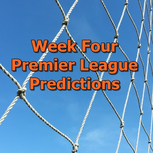 Week 4 Premier League Predictions